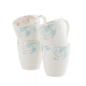 Belleek Living Novello Mugs Set