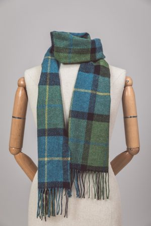 Foxford Lambswool Shannon Check Scarf