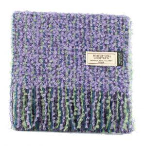 Mucros Mohair Purple Scarf