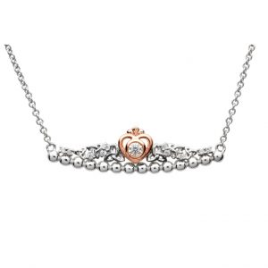 Silver Tara's Princess Heart Trinity Pendant