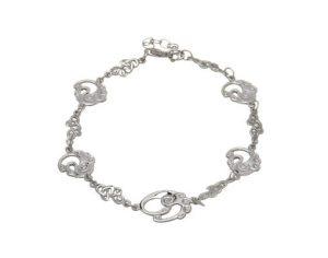 Sterling Silver Children of Lir Bracelet