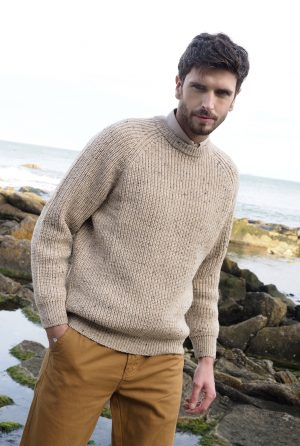 Fishermans Wool Rib Sweater