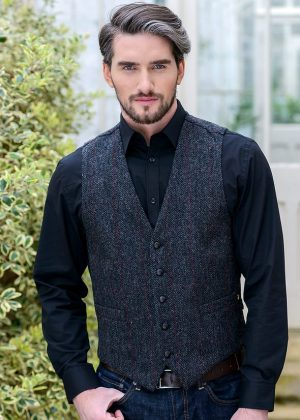 Mucros Tweed Waistcoat