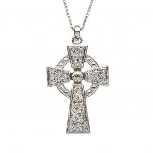 Boru Silver Cross Celtic Warrior