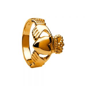 Boru Ladies Large Claddagh Ring