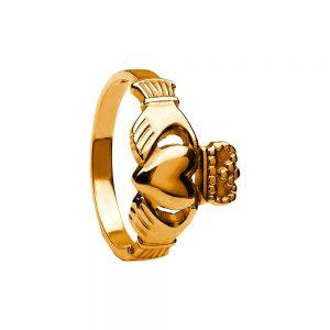 Boru Ladies Heavy Claddagh Ring