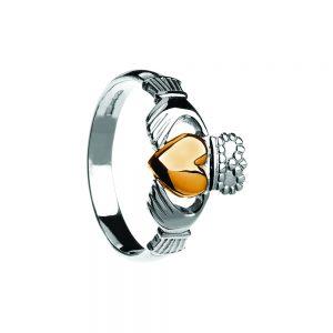 Boru Ladies Traditional Style Claddagh Ring