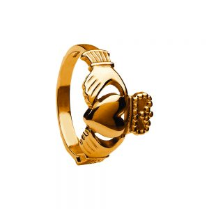 Boru Gents Traditional Heavy Claddagh Ring
