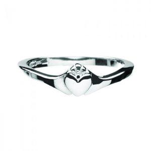 Boru Contemporary Ladies Claddagh Ring