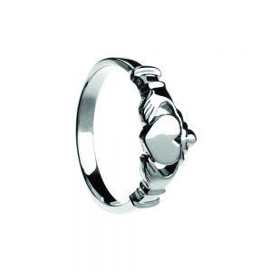 Boru Contemporary Flat Claddagh Ring