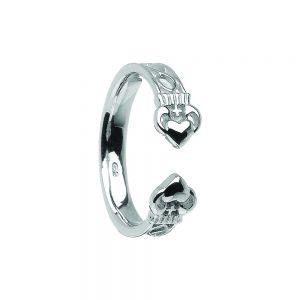 Boru Ladies Torc Style Claddagh ring