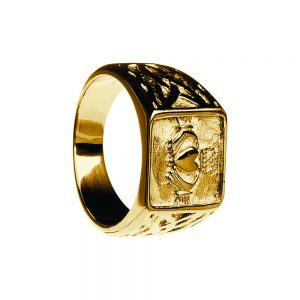 Boru Gents Signet Claddagh Ring