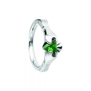 Boru Ladies Hands on Heart Claddagh Ring