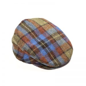 John Hanly Multi Color Tweed Cap h78