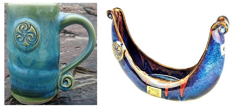 Colm De Ris Keltic Krug Viking Bowl