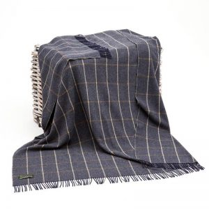 Lambswool Irish Blanket John Hanly 607