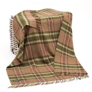 Large Wool Irish Blanket Throw John Hanly 183