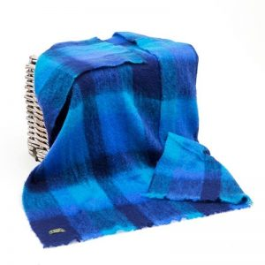 Large Irish Mohair Blanket John Hanly 503