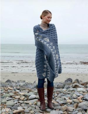 Merino Wool Sailing Boat Blanket