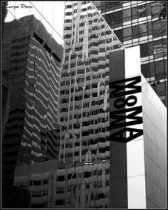 Tony Fischer Exterior Reflection, MOMA, New York City (CC BY 2.0)