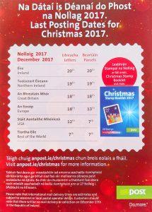 An Post Christmas 2017