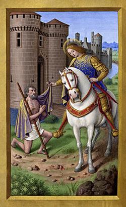 St Martin Jean Bourdichon [Public domain], via Wikimedia Commons