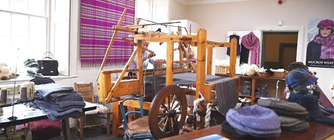 Muckross Weavers Loom