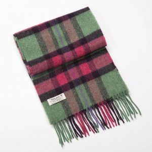 John Hanly Green Pink Scarf