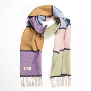 John Hanly Multi Color Scarf