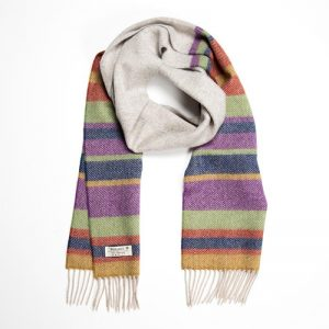 John Hanly Stripe Scarf