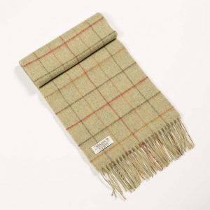 John Hanly Check Scarf
