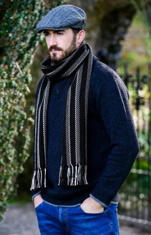 Mucros Dingle Stripe Scarf