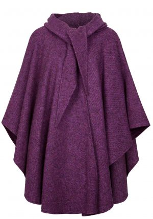 Jimmy Hourihan Donegal Tweed Berry Cape