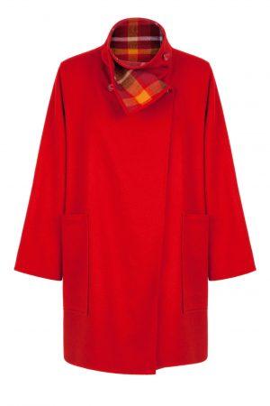 Jimmy Hourihan Short Red Coat