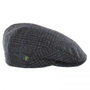 Mucros Trinity Tweed Flat Cap