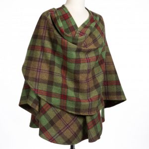 John Hanly Lambswool Sue Cape 604