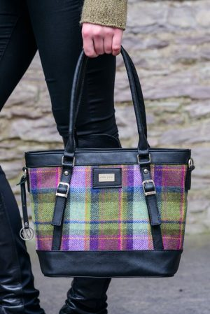 Mucros Herringbone Kelly bag