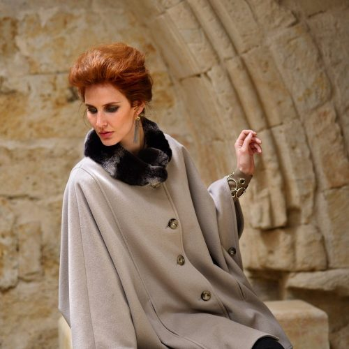 Jimmy Hourihan Cape in Stone