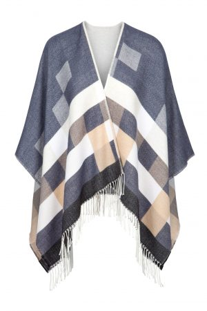 Jimmy Hourihan Fringed Wool Shawl