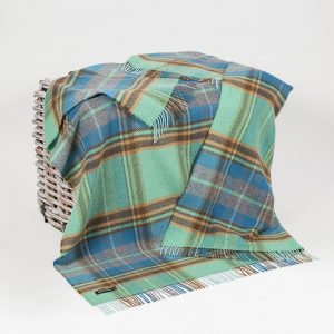 John Hanly Merino Cashmere Blanket Throw