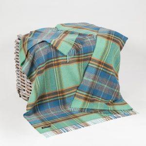 John Hanly Merino Cashmere Blanket Throw
