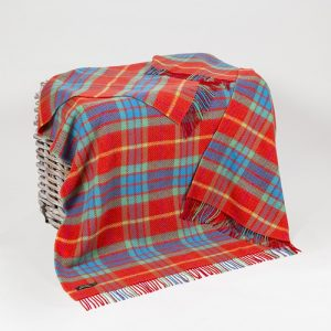 John Hanly Merino Cashmere Throw