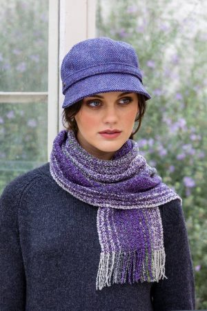 Mucros Purple Skellig Scarf