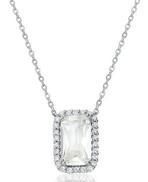 Waterford Crystal Silver Necklace