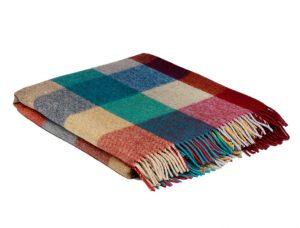 McNutt Urban Block Alpaca Blanket Throw