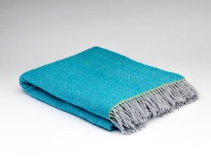 McNutt Belle Herringbone Blanket Throw
