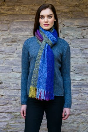 Mucros Multi Color Islander Scarf