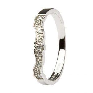 Shanore Claddagh Diamond Matching Wedding ring