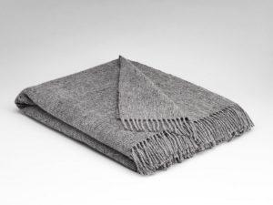 Mcnutt Wild Dove Gray Blanket