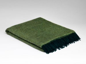 McNutt Leaf Green Blanket